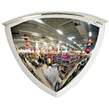 See All Plexiglas Panaromic Quarter Dome 90 Degree Security Mirror