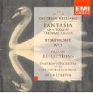 Vaughan Williams: Fantasia on a Theme of Thomas Tallis / Symphony no. 5 in D / Previn: Reflections