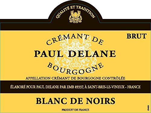 Paul Delane Blanc De Noir Brut Burgundy Sparkling Wine 750 Ml
