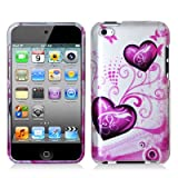 51vPHcBOmLL. SL160  Butterfly Heart 2d Hard Snap on Crystal Skin Case Cover Accessory for Ipod Touch 4th Generation 4g 4 8gb 32gb 64gb