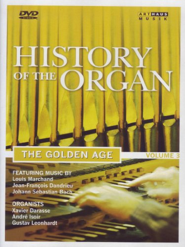 Cover art for  History of the Organ, Vol. 3: The Golden Age