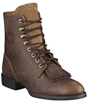 Hot Sale Ariat Women's Heritage Lacer II Lace Boot,Distressed Brown,8 M US
