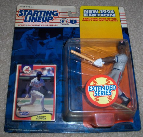 1994 Kenny Lofton MLB Extended Series Starting Lineup