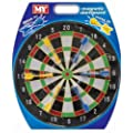 "Kids 16"" Magnetic Dartboard with 6 Darts for Indoor Outdoor Garden Fun"