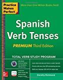 img - for Practice Makes Perfect Spanish Verb Tenses, Premium 3rd Edition (Practice Makes Perfect Series) book / textbook / text book