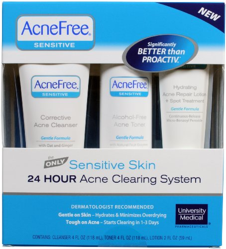 AcneFree AcneFree Sensitive Skin Acne System