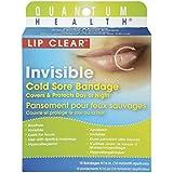 Quantum Health Lip Clear Invisible Cold Sore Bandage, 12 Count