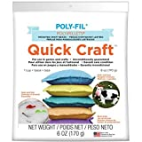 Fairfield PP1QC 6-Ounce Quick Craft Weighted Poly Pellet, White by Fairfield