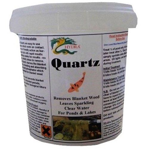 Hydra Quartz 5 kilo - Treats 50,000 ltr Rapidly Removes Blanket Weed, String Algae  &  Slime in Ponds