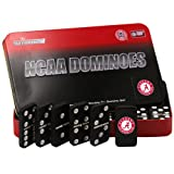 NCAA Alabama Crimson Tide Domino Set in Metal Gift Tin at Amazon.com