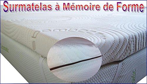 Image - Surmatelas mousse a memoire de forme 160x200 ...