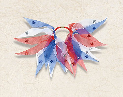 Patriotic Ponytail Holder