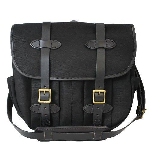 [フィルソン]FILSON 70232 Medium Field Bag フィールドバッグ ショルダーバッグ Black ブラック [並行輸入品]