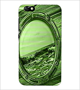 PrintDhaba Mirror D-3899 Back Case Cover for HUAWEI HONOR 4X (Multi-Coloured)