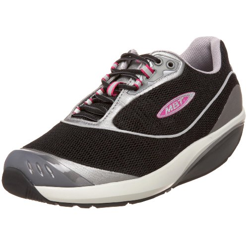 MBT Fora Black Ladies Athletic Shoe, Black, UK4.5