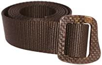 Bison Designs 30mm Web Carbonator Belt with 100-Percent Carbon Fiber Buckle (Black, 38-Inch Maximum Waist/Medium)