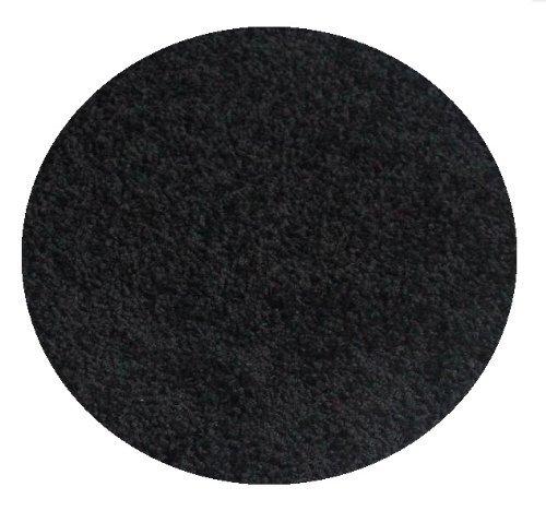 Koeckritz Area Rug Size-7' Round Color-Black