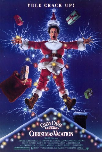 National Lampoon's Christmas Vacation Poster Movie 11x17 Chevy Chase Beverly D'Angelo Randy Quaid