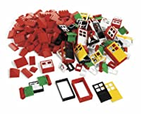 LEGO Education Doors, Windows & Roof Tiles Set 4587438 (278 Pieces) by LEGO Education