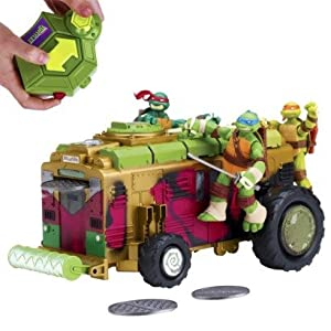 Teenage Mutant Ninja Turtles Ninja Control Shellraiser RC Vehicle