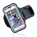 DBPOWER スポーツアームバンド 携帯ケース iPhoneとsumsung Galaxyに対応 超軽量 調節可 (iPhone5/5s/5c/4s/Galaxy S3)