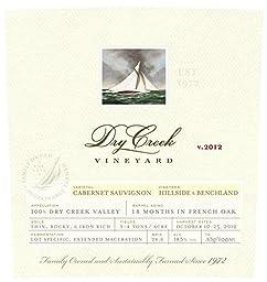 2012 Dry Creek Vineyard Cabernet Sauvignon, Dry Creek Valley 750 mL Wine