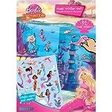 echange, troc Collectif - 6530 Barbie in a Mermaid Tale Sticker Set