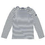 (セントジェームス)9858 MINQUIERS MODERNE SAINT JAMES長袖Tシャツ[並行輸入品]ECRU-MARINE:M