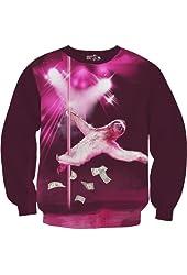 Sharp Shirter Stripper Sloth Sweatshirt