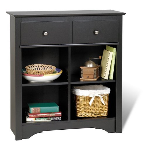 Cheap Sonoma Black Finish Sideboard Buffet Console Table Server (AZ00-17553×21020)
