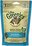 FELINE GREENIES Original Dental Treats - Ocean Fish Flavor - 2.5 oz. (71 g)