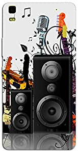 Lenovo K3 Note Back Cover/Designer Back Cover For Lenovo K3 Note