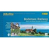 bikeline Radtourenbuch Bodensee-Radweg: Rund um den Bodensee, Überlinger See und Untersee 1:50 000, 260 km, GPS-Tracks Download, wetterfest und reißfest