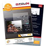 AtFoliX FX-Antireflex screen-protector for Canon PowerShot A810 (3 pack) - Anti-reflective screen protection!