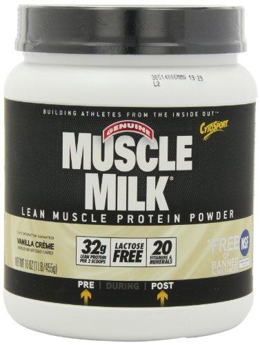 CytoSport Muscle Milk, Vanilla Creme, 1 Pound