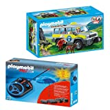 PLAYMOBIL® Country 2-part Set 5427 4856 Mountain Rescue Truck + RC Module Set Plus