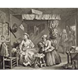 The Bedroom Scene, by William Hogarth (Print On Demand)