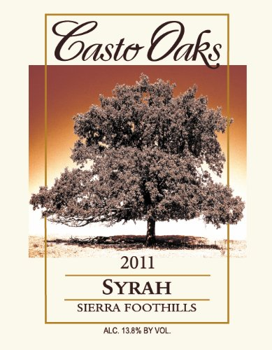 2011 Casto Oaks Syrah 750 Ml