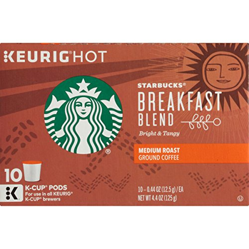 Starbucks Breakfast Blend, K-Cup for Keurig Brewers, 60 Count (K Cups Starbucks Breakfast Blend compare prices)