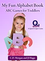 My Fun Alphabet Book: ABC Games for Toddlers (QuizFit Kindergarten - Preschool Games & Books)