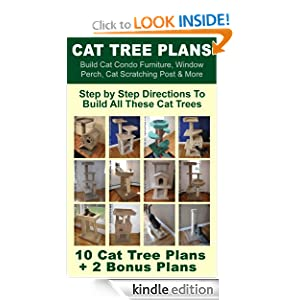 Cat tree plans build cat condo furniture window perch for How to build a cat perch