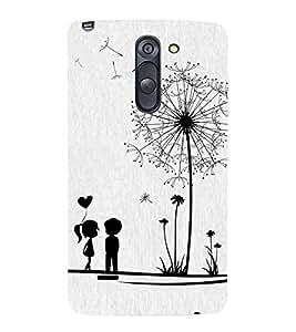 Vizagbeats Black & White Couple Back Case Cover for LG G3 Stylus::LG G3 Stylus D690N::LG G3 Stylus D690