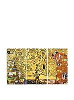 Legendarte Set Lienzo 3 Uds. Gustav Klimt - L'Albero Della Vita