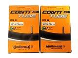 コンチネンタル(Continental) チューブ MTB29 A40 28/29×1.75-2.5(米式バルブ40mm) 2本セット