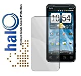 Halo Screen Protector Film Invisible (Clear) for HTC EVO 3D (3-Pack) - Premium Japanese Screen Protectors