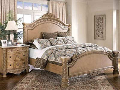 Casandracarreonbol Ashley South Coast California King Panel Bed In Light Wood Best Buy Chaap