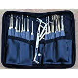 """24 piece GOSO lock pick set and FREE """"How to pick cylinder locks guide"""""""