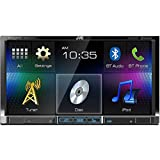 "JVC KW-V41BT 7"" Double Din CD/DVD/USB Bluetooth Car Stereo Receiver"