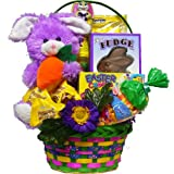 Art of Appreciation Gift Baskets Everybunnies Favorite Easter Basket with Bunny Rabbit