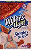 Wyler's Light To Go Drink Mix, Raspberry, .41 Ounces (Pack of 12)